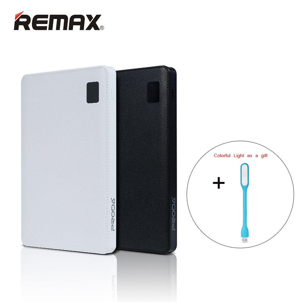 Remax Proda Notebook Mobile power bank 30000mAh 4 USB External Battery Charger universal external battery power