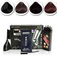 4 Kolory Magiczne włosy grzebień 1 zestaw do farbowania włosów Nowy moda Hot Szybkie farbowanie włosów Profesjonalny Salon Fryzjerski Kolory Barwników A2