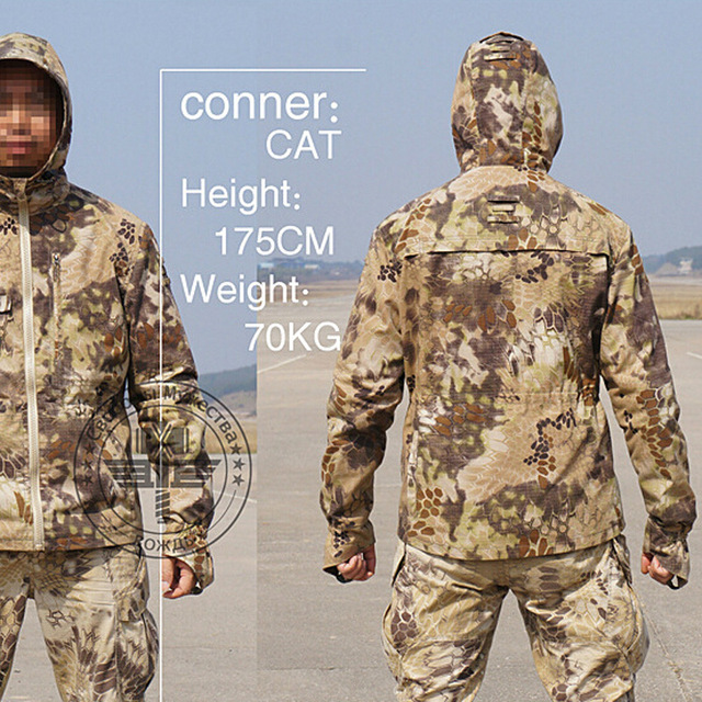 Tactical Gear Camouflage Outdoor Jacket Men Army Waterproof Warm Camo Hunting Clothes Military Accessories