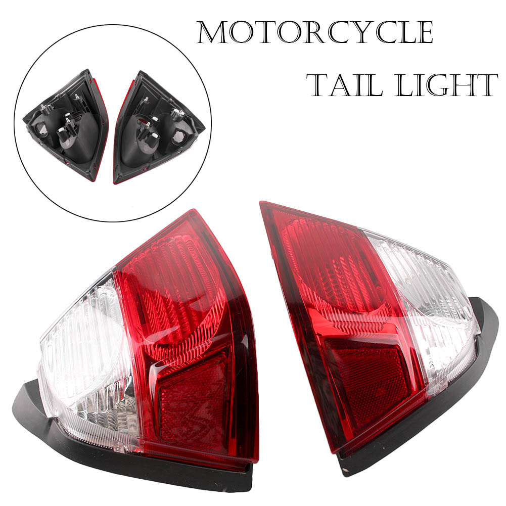 Motorcycle Taillight Rear Tail Light Turn Signals Lamp Assembly For Honda Goldwing GL1800 GL1800 2006-2011 2PCS E-Mark Blinker motorcycle trunk tail light brake turn signals with led case for honda goldwing gl1800 2006 2011