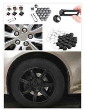 auto shape 20pcs car wheel cover screw protector nut dustproof 17 19MM for Renault Alaskan Trezor Talisman Kwid Espace Kangoo