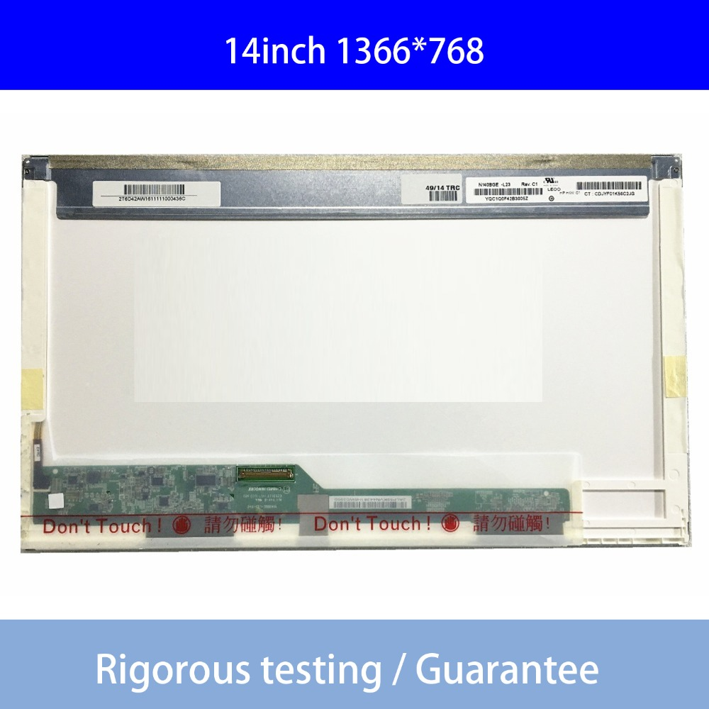 1366*768 B140xw01 V.0 V.6 V.8 Lp140wh1 (tl) (a1) Ht140wxb-100 Lp140wh4 Ltn140at26 N140bge-l23 Ltn140at02 Laptop Lcd-bildschirm SorgfäLtig AusgewäHlte Materialien