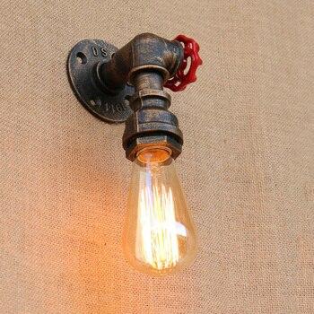 Industrieel IJzeren Brandweer Wandlamp 3