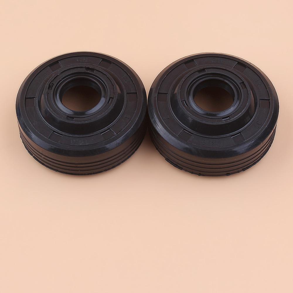 2Pcs/lot Oil Seal Kit For Partner 350 351 370 371 390 420 Chainsaw