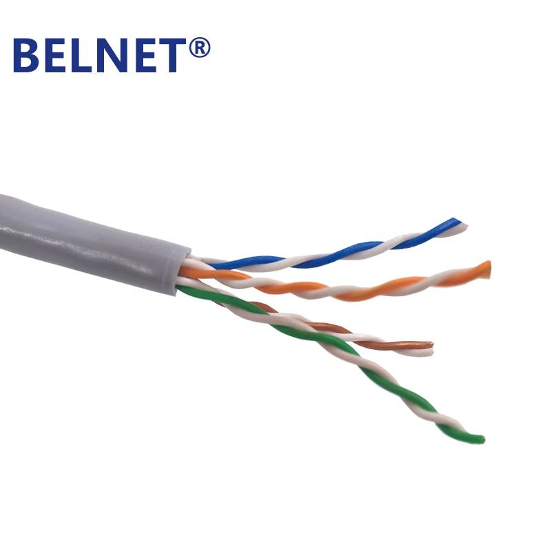 BELNET 305m 1000ft bulk CAT5E UTP RJ45 Ethernet-kabelnetwerk - Computer kabels en connectoren - Foto 3