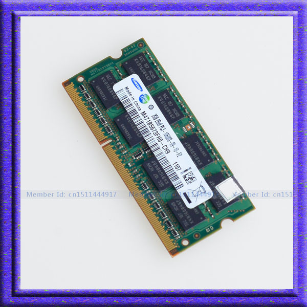 2 ГБ PC3-10600 DDR3-1333 DDR3 1333 мГц 2 ГБ памяти ноутбука 204PIN баран sodimm DDR3 портативный ноутбук памяти бесплатная доставка