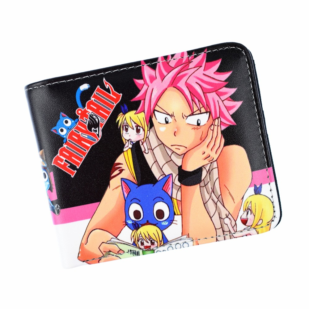 New Arrival Fairy Tail Wallet Cartoon Short Purse For Young Coin Purse недорого