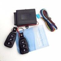 Универсальная система сигнализации  центральный комплект для дистанционного управления автомобилем  блокировка дверей  бесключевая Систе...