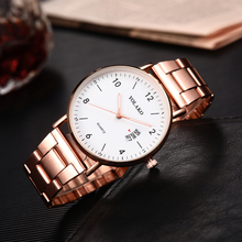 Casual Rose Gold Women Watches Luxury Stainless Strap Ladies Quartz Wrist Watch Female Clock Wife Gift For Montre Femme casual simple rose gold women watches mesh strap ladies quartz wrist watch clock wife gift for relogio feminino montre femme