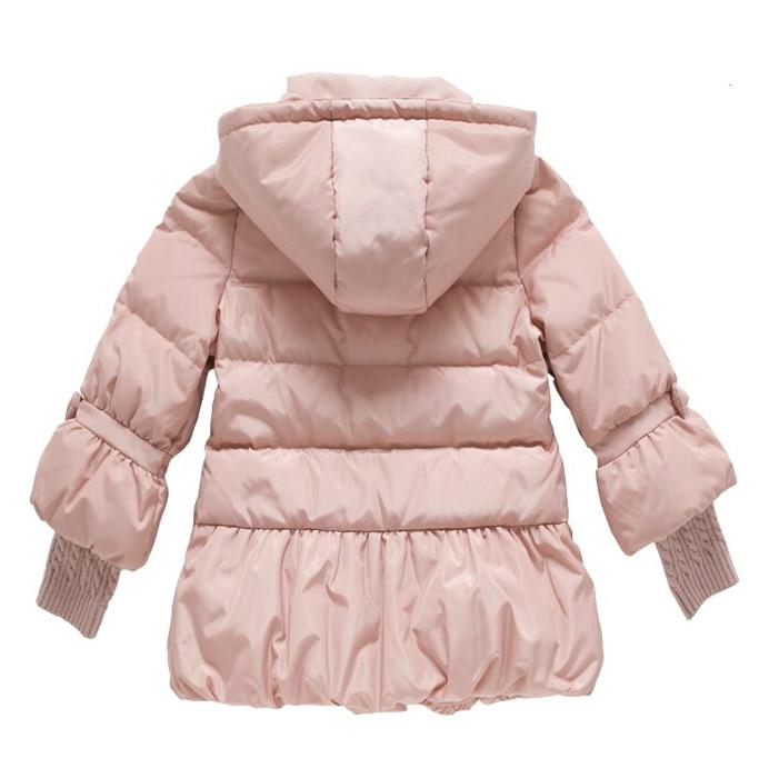 2018 Kalter Winter Warme Dicke Baby Kind Mädchen Kinder Hoody Lange - Kinderkleidung - Foto 3