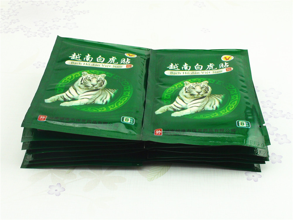104 Pcs Vietnam White Tiger Balm Patch Cream Body Neck Massager Meridians Stress Pain Relief Arthritis Capsicum Plaster C161 13