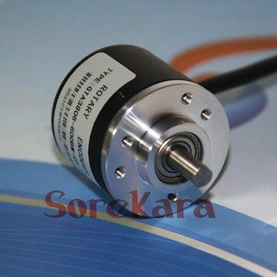 Incremental Optical Rotary Encoder 400 600 360P/R A/B Phase 5-24V eb50b8 p4pr 600 elco incremental encoder