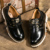 Hombres Botas de Cuero de Los Hombres del otoño botas de Trabajo Masculinos Calzado Otoño Invierno de Alta Calidad Zapatos de Trabajo