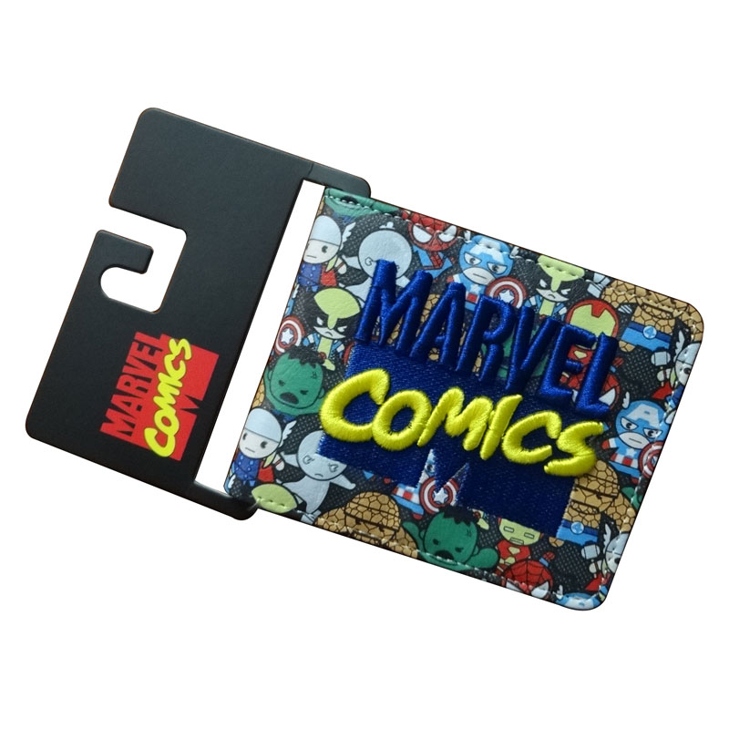 Marvel Comics Purse Superman Bat-man Gift Wallets for Men Boy Dollar Price Card Holder Bags Cartoon Anime Short Wallet carteira cartoon anime wallets red hot chili peppers carteira purse gift teenager card holder bag portefeuille femme leather short wallet