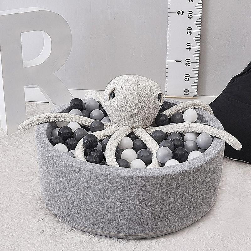 Round Play Pool Baby Ball Pit Infant Ocean Ball Pool Funny Playground Indoor Games Dry Pool Children's Room Decoration