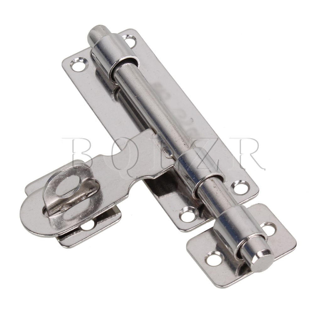 BQLZR Necked Barrel Bolt Hasp Cupboard Door Lock Stainless Steel Padlock Clasp 11.3cm-in Door Bolts from Home Improvement on Aliexpress.com | Alibaba Group  sc 1 st  AliExpress.com & BQLZR Necked Barrel Bolt Hasp Cupboard Door Lock Stainless Steel ...