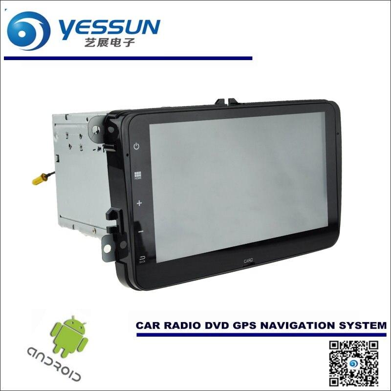 Android Navegación del coche de Radio CD Reproductor de DVD Estéreo DEL GPS Navi