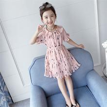 Summer Lace Children Clothing Princess Dress Kids Dresses For Girls Casual Wear Dress 3-8 Years Girls Dress Birthday Gift все цены