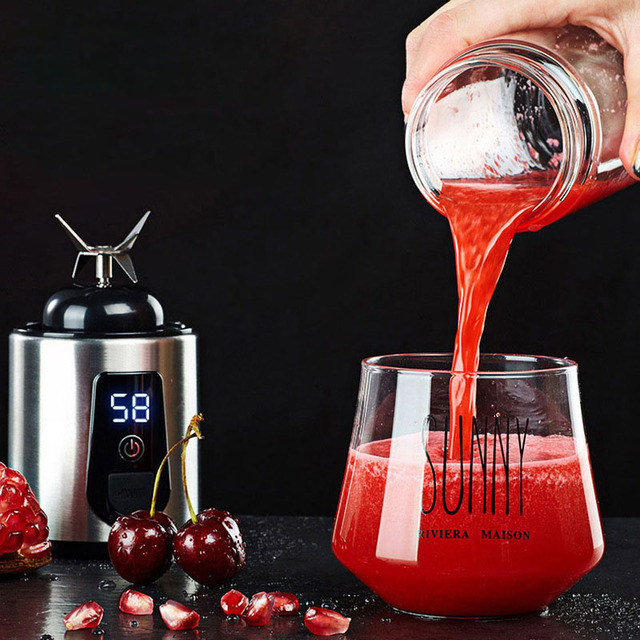 Stainless Steel Blender with Glass Container
