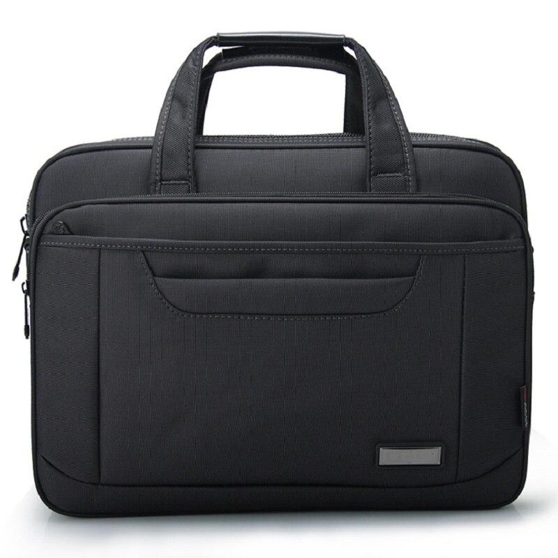 100% Wahr Yajie 16 Zoll Herren Aktentasche Schwarz Oxford Wasserdichte Laptop Computer Tasche Große Kapazität Business Schulter Tasche Männer