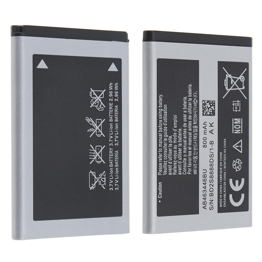 800mAh 3.7V Rechargeable Battery Phone Accumulator for Samsung X208 / C268 / B189 / B309 / C3300K Applicable Battery 3 7v 2300mah rechargeable li ion replacement battery mobile cell phone accumulator for samsung galaxy s3 i9300 i9305 i9308 i535