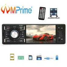 AMPrime 1 Дин радио 4 «аудио стерео Bluetooth FM радио FM USB AUX MP5 автомобильный мультимедийный плеер Поддержка Камера ото Teypleri