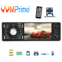 AMPrime 1 din Car Radio 4 Audio Stereo Bluetooth FM Radio FM USB AUX MP5 Car Multimedia Player Support Camera Oto Teypleri