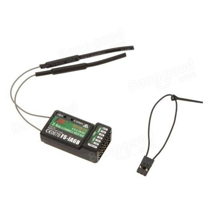2,4G Flysky 6CH FS-iA6B iA6B Empfänger PPM Ausgang Mit iBus Port Kompatibel mit Flysky i4 i6 i10 i6s Sender FS-i4 FS-i6x
