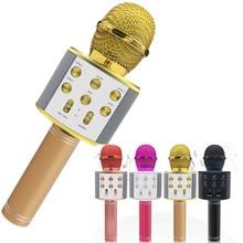 Professional Bluetooth Wireless Microphone Speaker Handheld
