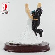 Wedding Gift Wedding Cake Topper Personalized Custom real doll custom clay dolls fixed resin body SR191