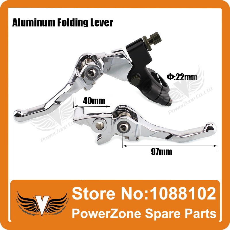 Aluminum Folding Clutch lever Brake Lever Fit CRF IRBIS Apollo Xmotos KAYO BSE Pit Dirt Bike
