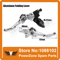Aluminum Folding Clutch lever Brake Lever Fit CRF IRBIS Apollo Xmotos KAYO  BSE Pit Dirt Bike Parts Free Shipping!