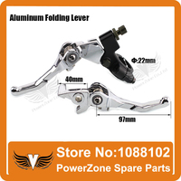 7 8 Inch Aluminum Folding Clutch And Brake Folding Lever Universal Spare Parts For Dirt Bike