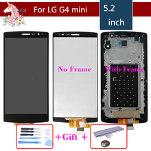 For LG G4 mini G4 Beat G4s H736 H735 H735TR H735T H736P LCD Touch Screen and Digitizer With Bezel Frame Assembly Replacement 100% tested for lg g4 mini h735 h736 lcd display touch screen with digitizer full assembly 5 2inch 1920x1080