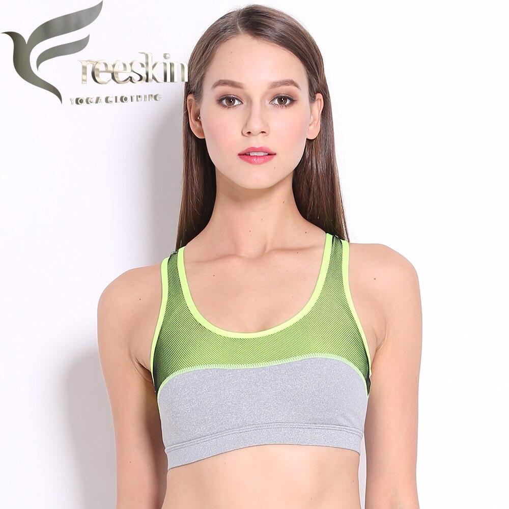 Zhangyunuo Women's Sports Bra Gym Fitness Running Yoga Bra Athletic Yoga Top Push Up Padded Underwear For Woman