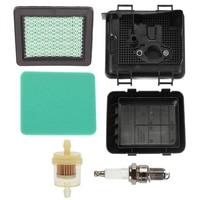Carburetor Kits Air Fuel Filter Cover Kit For Honda GCV135 GCV160 Engine Air Filter Cover Kit