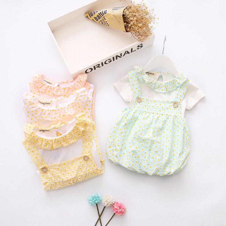 2017 Promotion Hot Sale Casual Broadcloth Short Baby Girls Dress Summer Style Clothes Newborn Dresses For Cotton Children Set