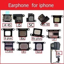 Динамик для iPhone 4, 4S, 5, 5S, 5c, SE, 6, 6 S, 7, 8 Plus, X, ушной динамик, ушной динамик, запасные части для телефона