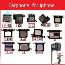 цена на Genuine Earpiece Speaker for iPhone 4 4s 5 5s 5c SE 6 6S 7 8 Plus X Ear Speaker Earpiece Ear-Speaker phone parts replacement