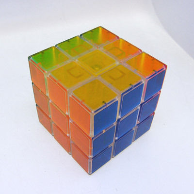 Bell crystal magic cube transparent  professional free air mail
