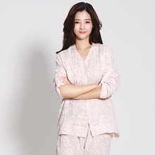 Summer Maternity Pajamas Set Pajamas Shirt Feeding For Pregnant Half Sleeve Cotton Cute Pregnant Clothes Big