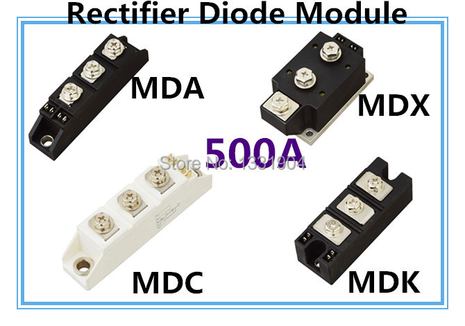 free shipping new original 500A Rectifier diode Module MDC MDA MDK MDX 500A welding type free shipping 20pcs lot rhrg75120 to 247 2 75a1200v ultrafast soft recovery diode new original