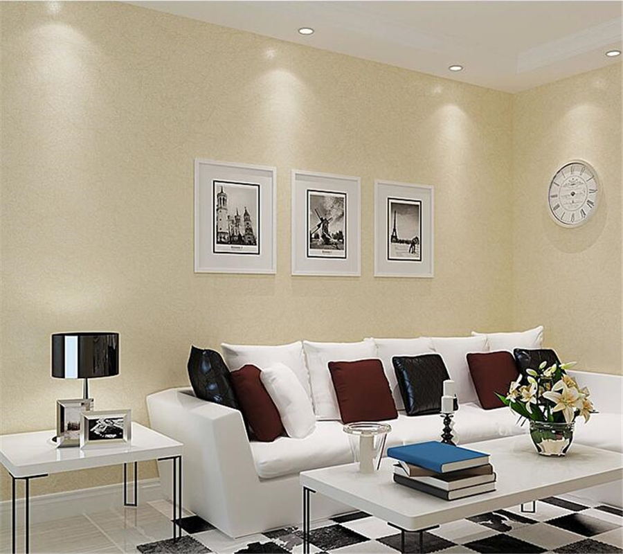 plain wall bedroom background simple living modern solid end 3d wallpapers corridor beibehang