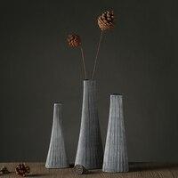 Poli resina vaso home decor vasi da terra vasi da fiori fioriere wedding party decor paper folding vasi di forma
