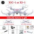 Mais barato X5C-1 RC Helicóptero 2.4G 4CH 6-Axis Zangão Com câmera de 2.0MP Câmera HD X5 sem câmera X5C Quadcopter e DM005 Dron toys