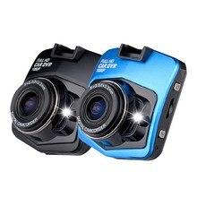 Мини GT300 Автомобильный ВИДЕОРЕГИСТРАТОР Камера Full HD 1080 P Видео Регистратор Регистратор G-sensor Ночного Видения Тире Камерой Черный синий
