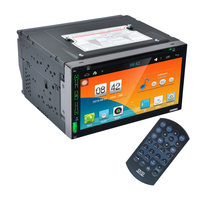 6 95 Capacitive Touched Screen Android 4 4 Car DVD Player Quad Core 1080P HD 2