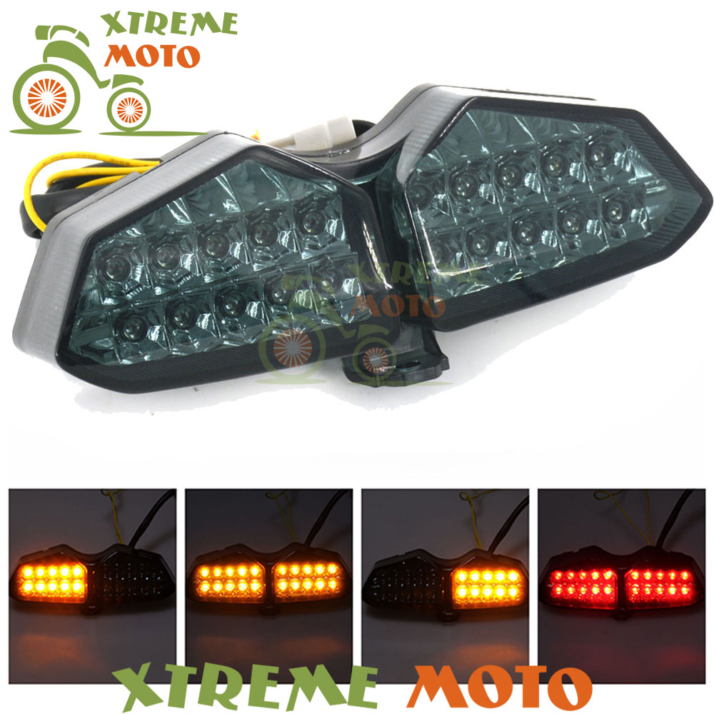 Motorcycle LED Rear Turn Signal Tail Stop Light Lamps Assembly For Yamaha YZF-R6 2003 2004 2005 YZF R6S 06 07 08Motorcycle LED Rear Turn Signal Tail Stop Light Lamps Assembly For Yamaha YZF-R6 2003 2004 2005 YZF R6S 06 07 08