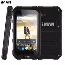 "iMAN X5 RAM 1GB+ROM 8GB IP67 Waterproof Dustproof Shockproof 4.5"" Android 5.1 MTK6580 Quad Core up to 1.3GHz 3G FM SOS GPS WIFI"