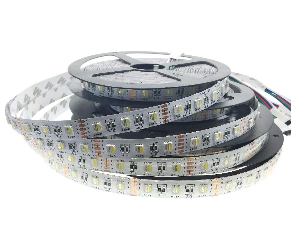 4 in 1 RGBW LED Strip 5050 Lumina flexibila RGB + Alb / RGB + Alb - Iluminat cu LED